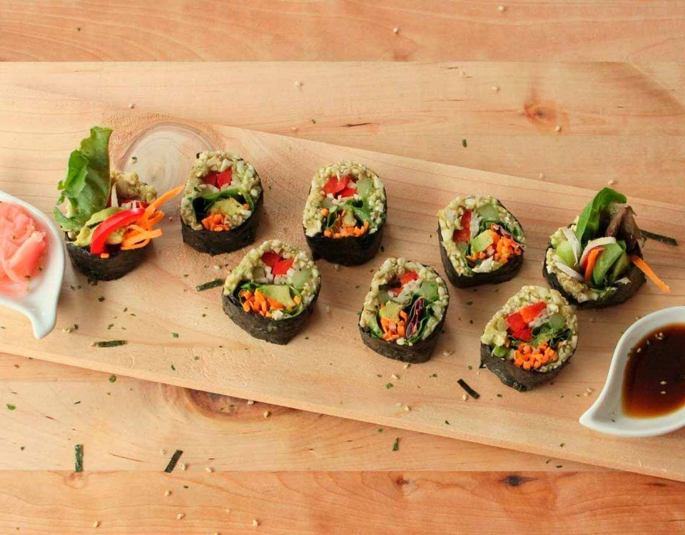 catering sushi madrid